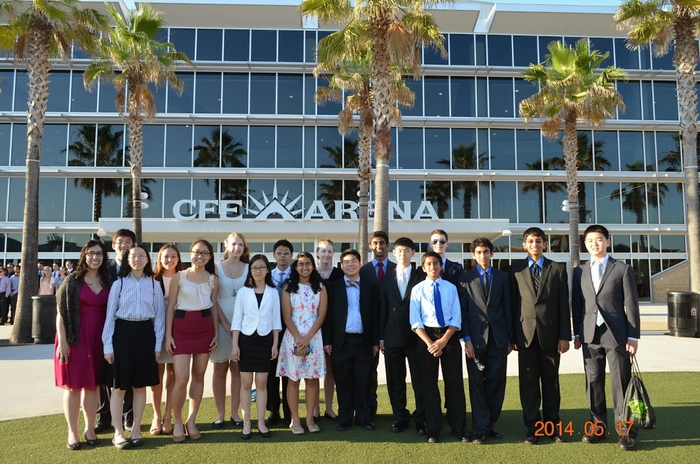 Our 2014 states team at the Science Olympiad National Tournament
